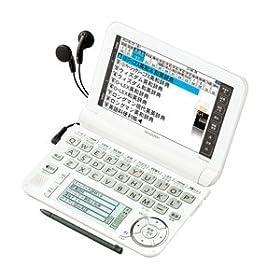 電子辞書 Brain 高校生モデル 型番:PW-G5300-W
