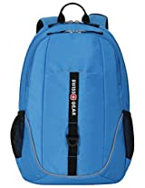 SwissGear SA6639 Neon Blue Computer Backpack - Fits Most 15 Inch Laptops and Tablets
