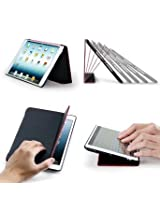 Acase F1 IPad Mini / iPad Mini 2 Folio Hard Case With Built-in Stand For iPad Mini - Support Smart Cover Function
