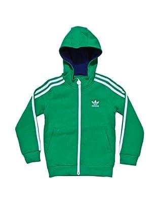 adidas Sudadera Lk Hfl (Verde / Blanco)