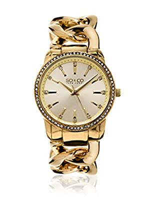 So&Co New York Orologio con Movimento al Quarzo Giapponese Woman GP15556 38 mm