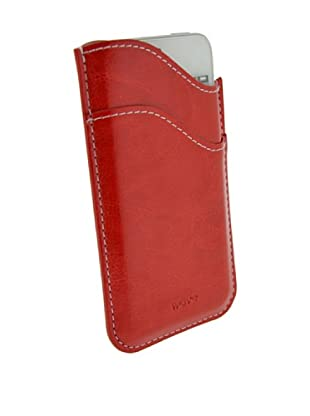 Blautel iPhone 5-5s Funda 4-Ok Wave Rojo