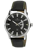 Maxima Attivo Steel Analog Black Dial Men's Watch - 30031LMGI
