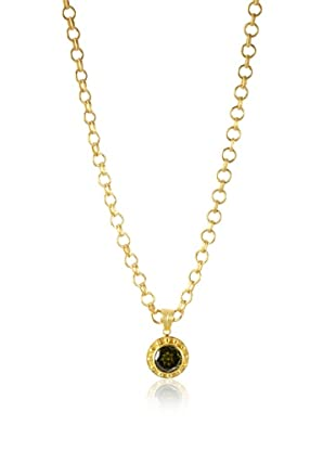 Jamie Young Green Zircon Palace Pendant, Gold