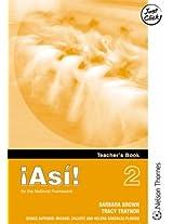 !Asi! 2 Teacher's Book Higher: 2