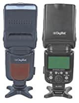 Digitek Speedlite DFL-800T 289IRT PRO (One Flash support both Canon & Nikon, 2016 Latest Model of DFL-800T-289IRT-C/N) Electronic Camera Flash w Auto Sensing ( GizmoGrid )