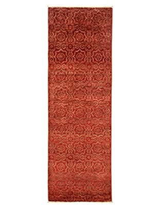 Darya Rugs Fine Modern Oriental Rug, Red, 2' 6