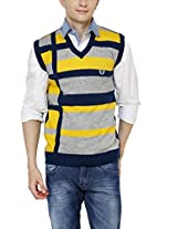 Leebonee Men's Sleeveless Pullover(Le1307AFB(XL))