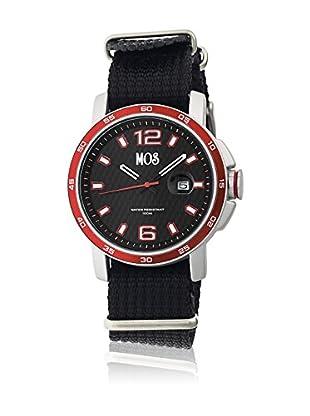 Mos Reloj con movimiento cuarzo japonés Moseb102 Negro 43  mm