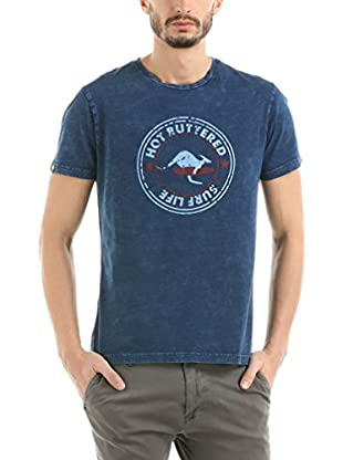 Hot Buttered T-Shirt Surf Life (Indigo)