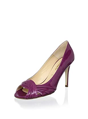 Butter Women's Cadet Pleated Peep-Toe Pump (Orchid)