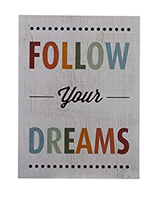 Premier Interior Panel de Madera Follow Your Dreams