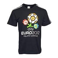 アディダス EURO2012 エンブレム Tシャツ(ブラック)