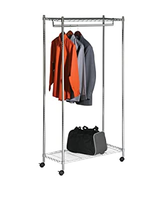 Honey-Can-Do Heavy Duty Rolling Garment Rack