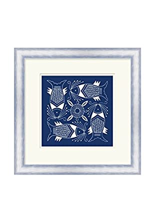 Surya Abstract Fish IV Wall Décor, Multi, 21