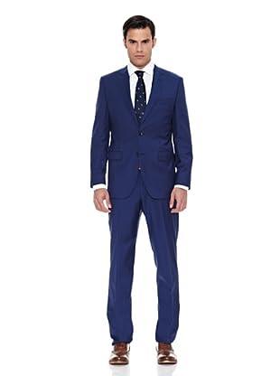 Pedro del Hierro Traje Tailored Estructura (Azul)