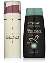 L'Oreal Paris Skin Care Revitalift Anti-Wrinkle Plus Firming Day Lotion 1.7 Ounce Plus Shampoo, 1.7 Ounce