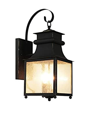 Bel Air Lighting Garden Chimney Wall Lantern
