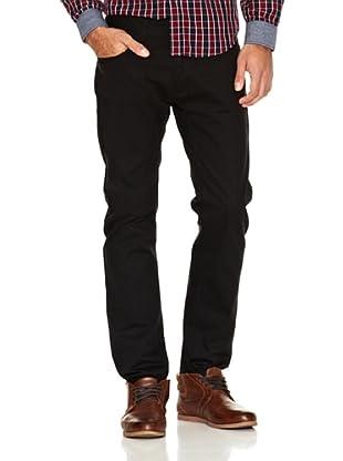 Springfield Pantalón Cinco Bolsillos (Negro)