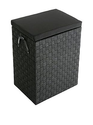 Zings Wäschekorb schwarz