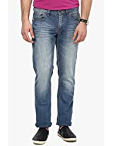 Blue Regular Fit Jeans Cat