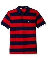 Gant Men's Band Collar Cotton T-Shirt