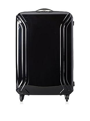 Zero Halliburton Air Ii 26 Inch 4 Wheel Spinner Travel Case, Black