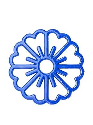 Old Dutch International Bloom Trivet, Dazzling Blue