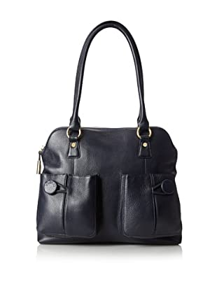 Bodhi Women's Modern Sophisticated Tote, Navy