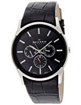 Skagen End of Season Analog Black Dial Men's Watch - SKW6000