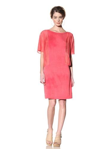 Nola Z Women's Angel Wing Dress (Pink)