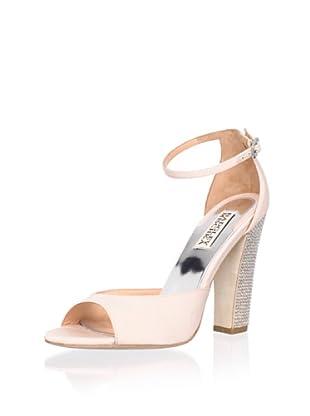 Badgley Mischka Women's Wynter Ankle-Strap Sandal (Peach)
