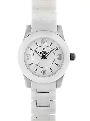 Dogma L7029 - Reloj Señora Movimiento Quarzo Brazalete Metálico Blanco