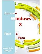 Aprende Windows 8. Paso a Paso