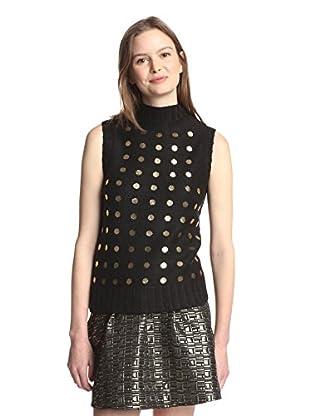 Kate Spade Saturday Women's Gold Dot Sweater Shell
