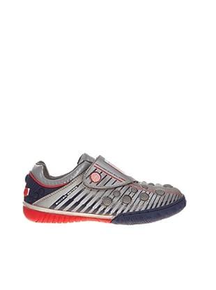 Sneaker Klettverschluss (Silber)