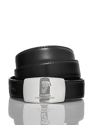 Versace Collection Cinturón Eudo (Negro)
