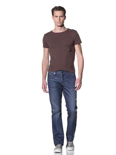 Dylan George Men's James Slim Coated Jeans (Gilroy Blue)