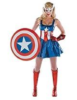 Captain America Female 8-10