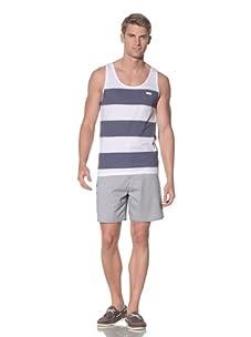 Rhythm Men's Vista Knit Tank (Navy)