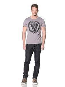 Rogue Men's Skeleton Print Tee (Grey)