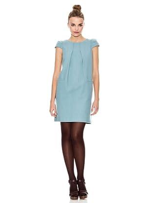 Laga Vestido Liso (Azul)