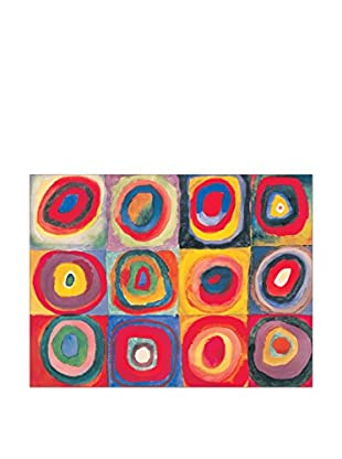 Artopweb Panel Decorativo Kandinsky Studio Del Colore 60x80 cm Multicolor