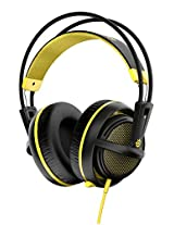SteelSeries Siberia 200, Gaming Headset, Retractable Mic, Software Management, (PC / Mac / Playstation / Mobile) - Proton Yellow