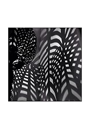 Light And Shadow On The Wall Photography On Mounted Metal