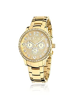 Just Cavalli Women's R7253127512 Huge Gold Stainless Steel Watch