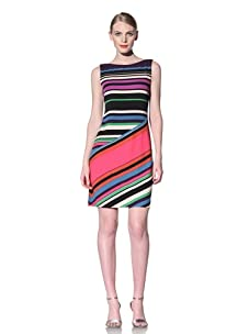 Muse Women's Sleeveless Dress (Purple/Multi)