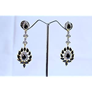 eNV Beautiful black dangles earrings