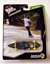 2012 Tech Deck XConcepts Longboards TD Cruiser 9 Ball Blue Green Lady Design (Set 20055458)