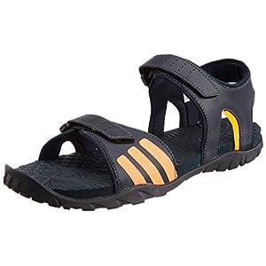Adidas Avior Men's Navy Blue & Orange Sandals - B05891